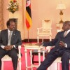 DAAWO SAWIRADA: Madaxweyne Xasan Sh Maxamuud oo lakulmay dhigiisa Uganda