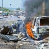 Twin car bombings in Somalia leave at least 13 dead, al-Shabaab claims responsibility